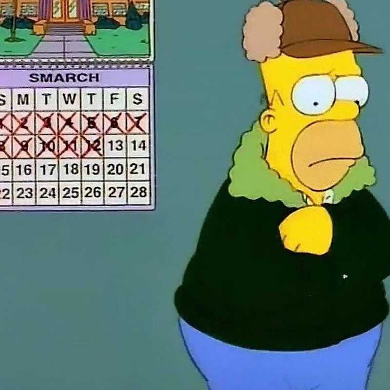 lousy smarch weather