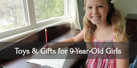 Put a smile on your nine year old girl's face with this incredible presents!