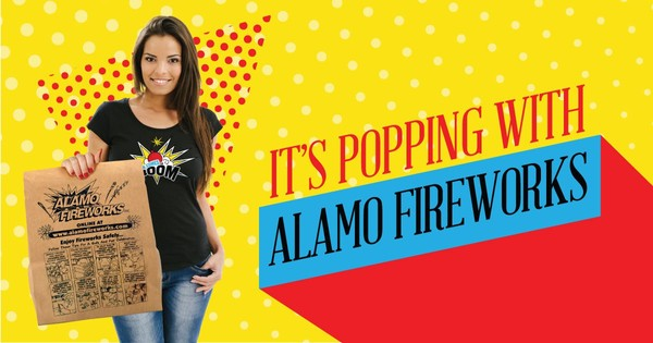 Alamo Fireworks - New PM Group Client
