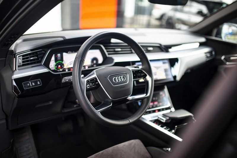 "Audi e-tron 55 Quattro *4% Bijtelling / Hulppakket Stad & Tour / 22"" / Topview* afbeelding 7"