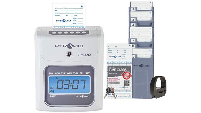 2500 Non-Calculating Time Clock
