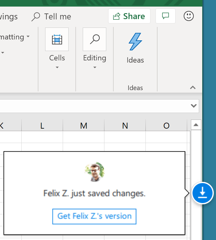 Collaborate on Excel files: Learn about co-authoring