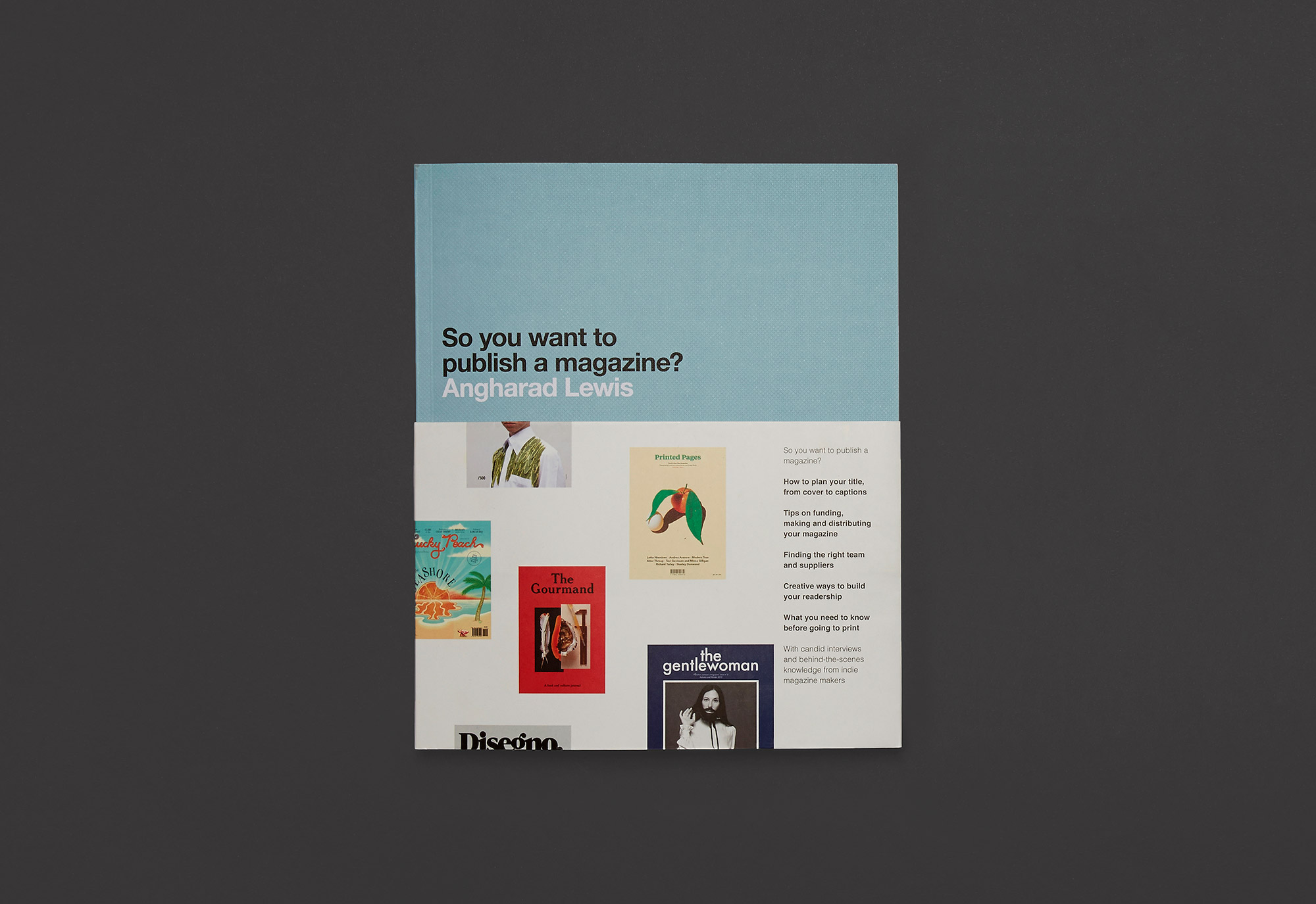 So you want to publish a magazine? designed by She Was Only