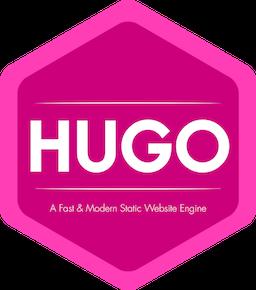 Hugoのロゴ