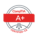 Comptia A+ Certified logo