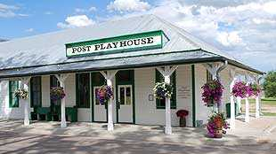 exterior of Post Playhouse