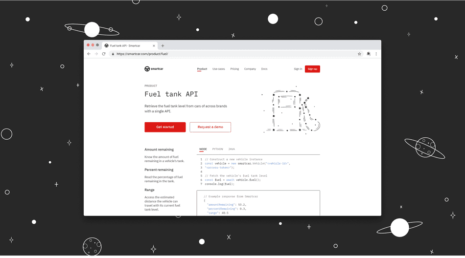 Introducing the fuel tank API