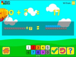 Forward, Backward: Commutative property of addition (Dragging) Math Game