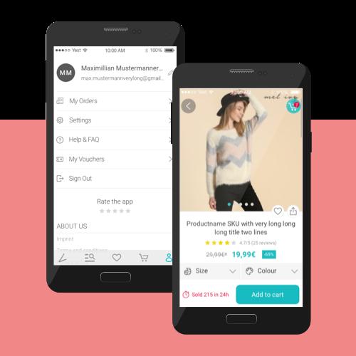 Lesara Mobile App