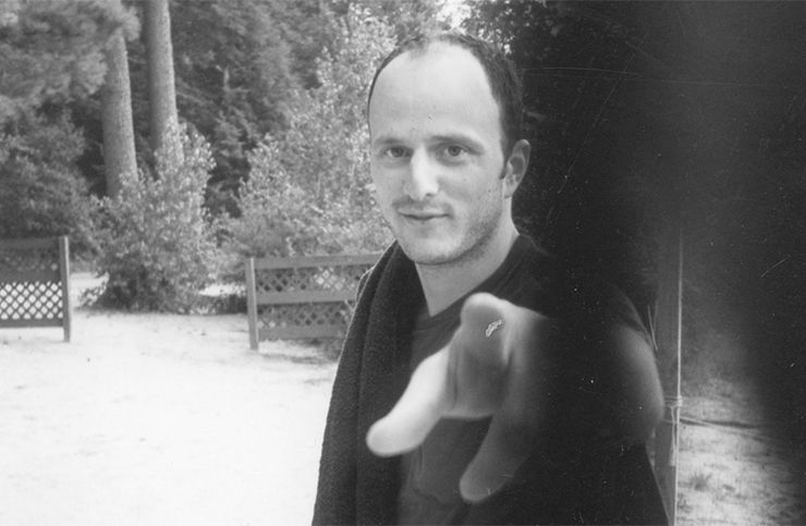 Джеффри Евгенидис в 1994 году. Источник: The Paris Review