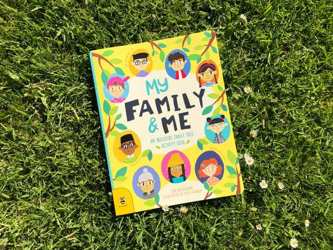 Book Review: My Family and Me: An Inclusivity Family Tree Activity Book