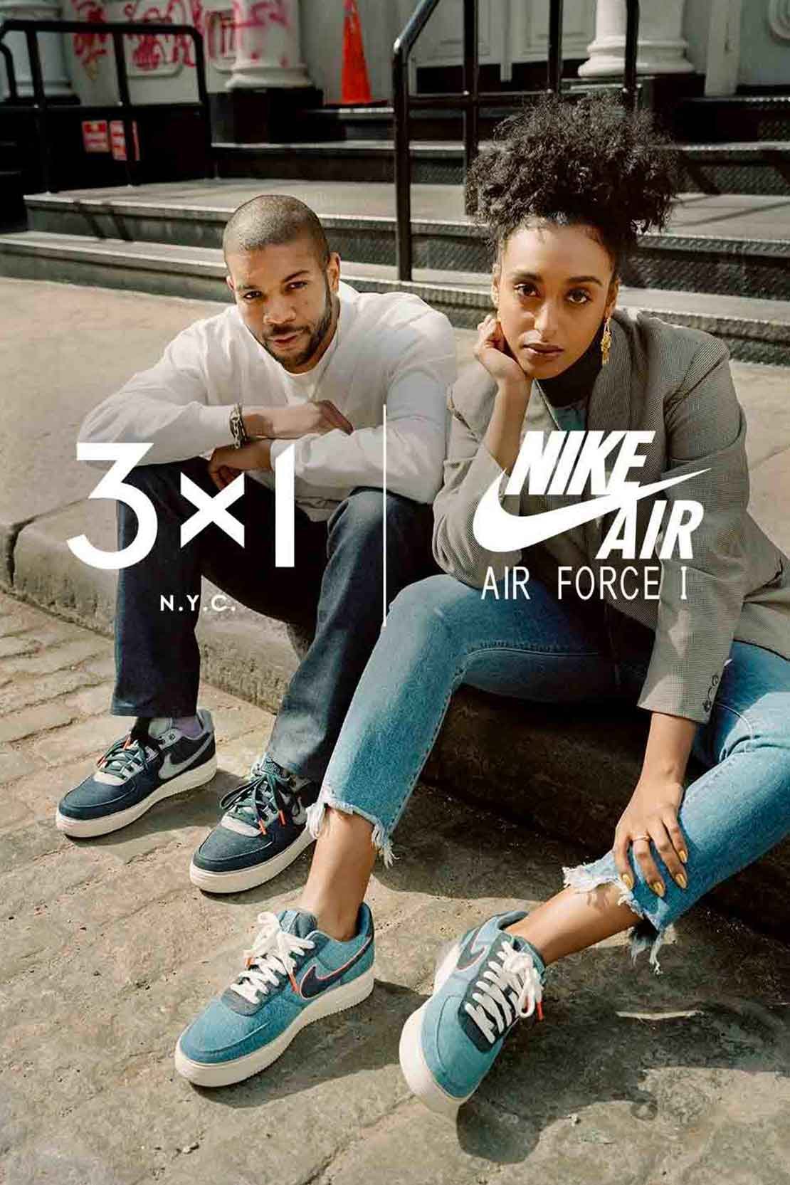 3x1 - Nike Air Force 1