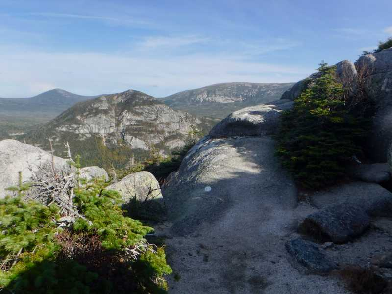 View from above treeline on Mt. Katahdin