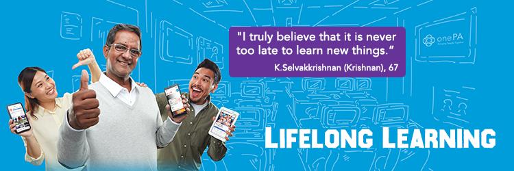 Merdeka Generation programmes - Lifelong Learning