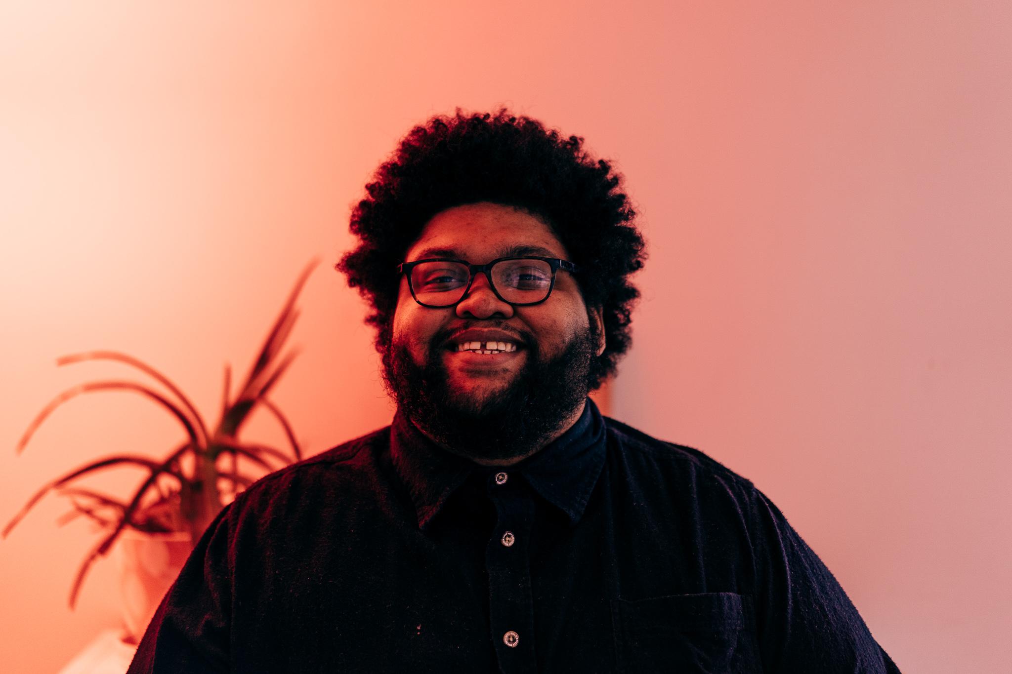 Portrait of Marcus Relacion smiling