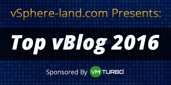 vSphere Land - Top vBlog 2016 - Logo