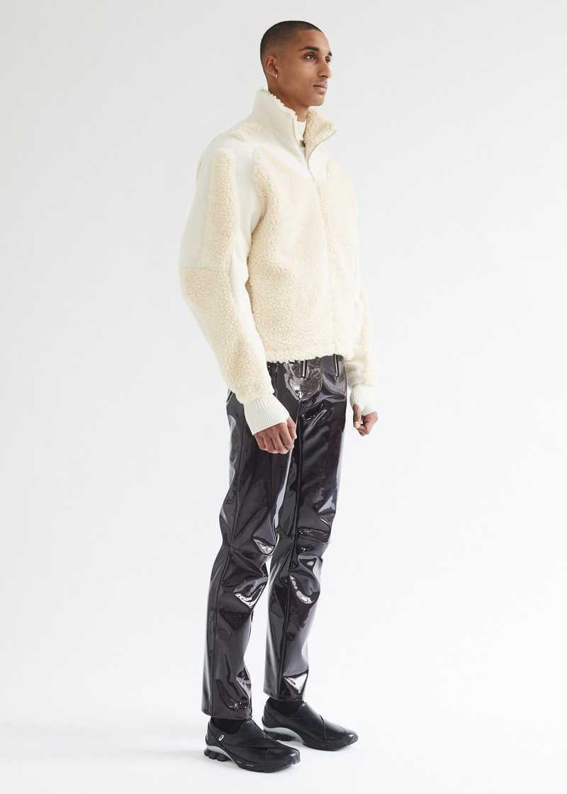 Ercan Jacket Cream full length
