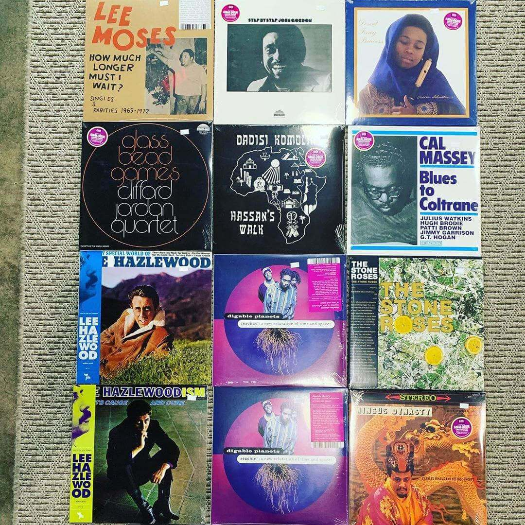 Vinyls records, Lee Moses - How much longer must I wait? & more.