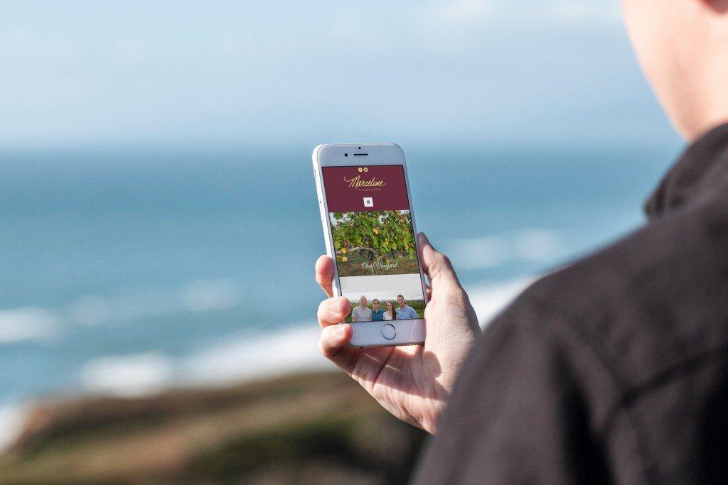 mockDrop iPhone 6 at the beach 1024x683