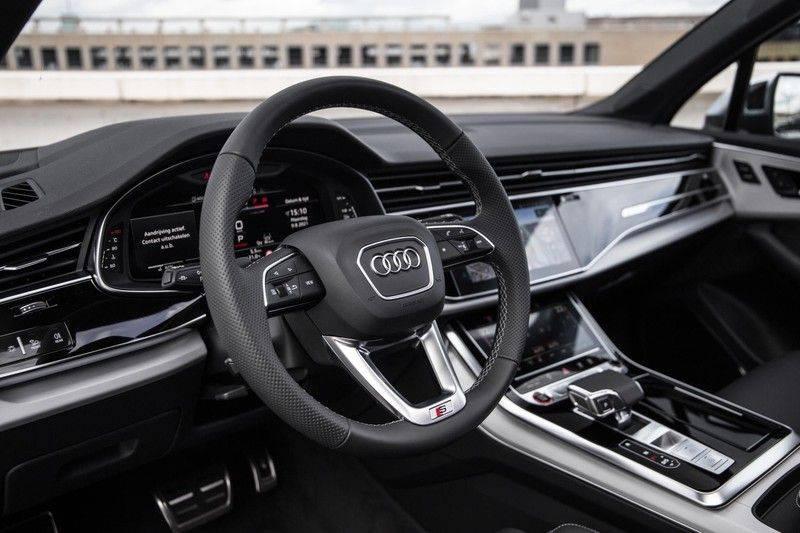 Audi SQ7 4.0 TFSI SQ7 quattro 7p 507PK | S-Line | Pano.Dak | 360 Camera | B&O Sound | Keyless-Entry | S-Sportstoelen | Assistentie Tour-City-Parking | 7 Persoons afbeelding 22
