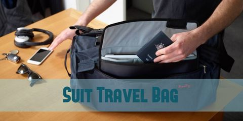 The 3 popular highly functional and convenient suit travel bag for packing that ensuring for garments stay unwrinkled. Look elegant in your perfect clothes.