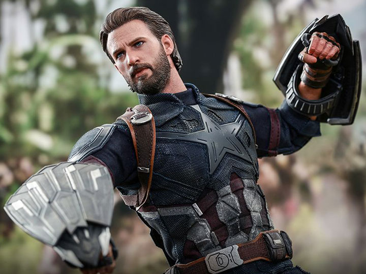 Hot Toys Avengers: Infinity War MMS480 Captain America 1/6th Scale Collectible Figure