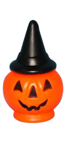 Pumpkin With Witch Hat photo