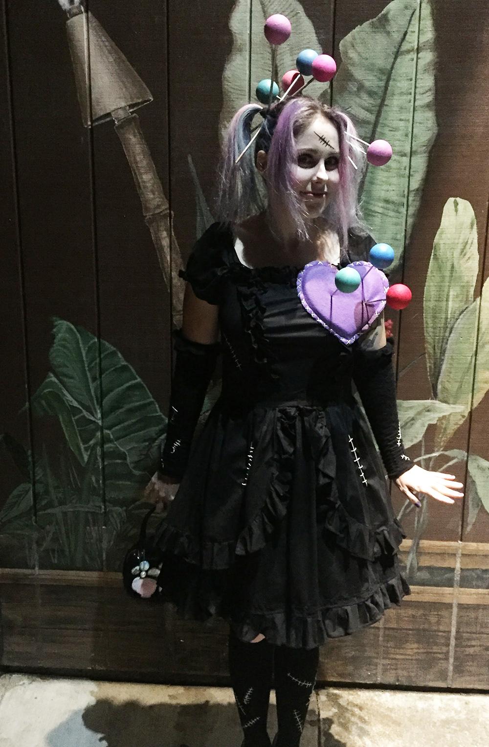 Vegan Voodoo Doll Costume