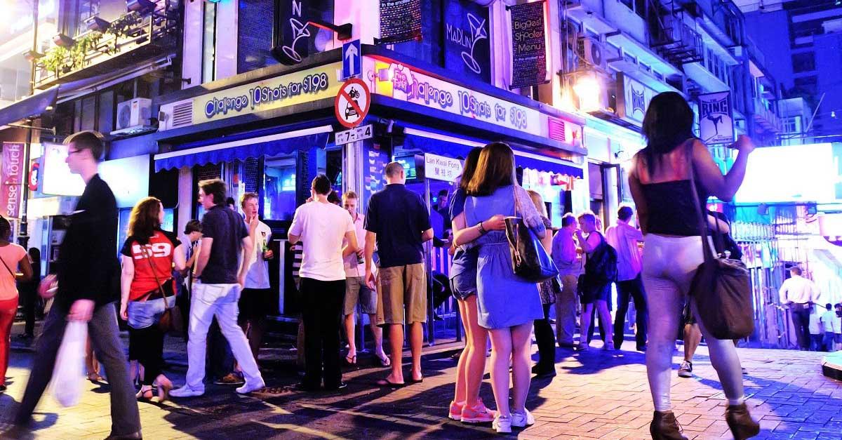 Dunia Malam Hongkong Nightlife Lan Kwai Fong