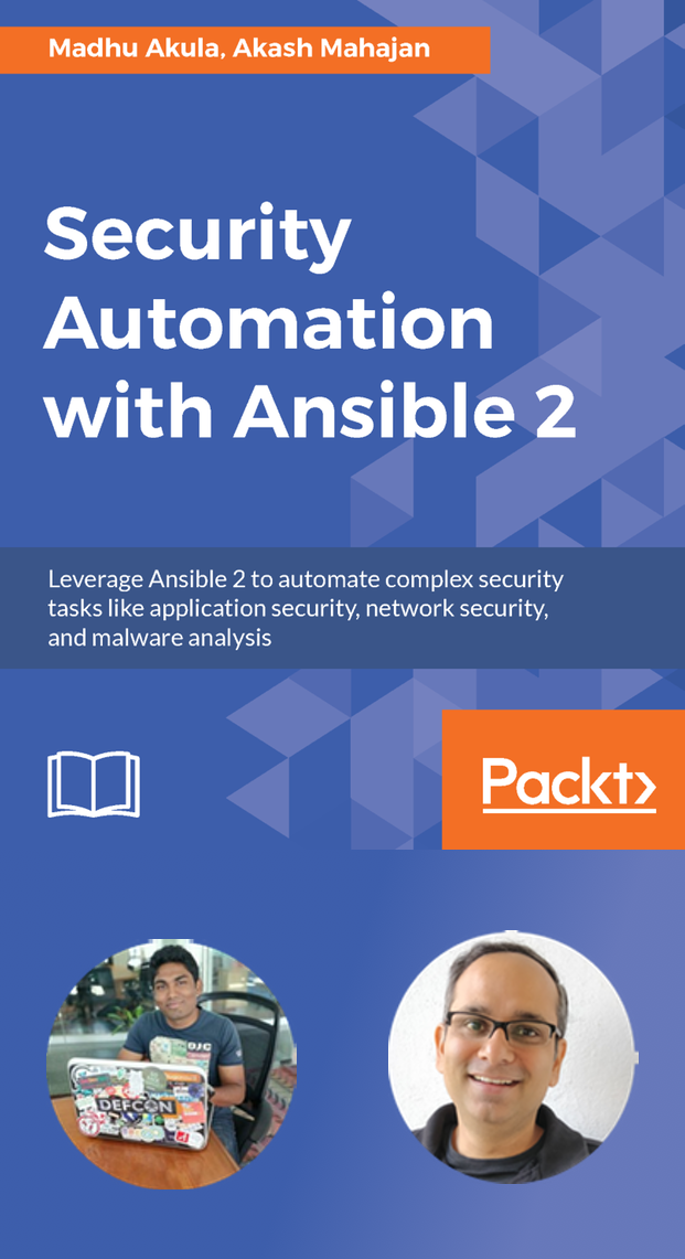 Book on Security Automation with Ansible by Madhu Akula and Akash Mahajan