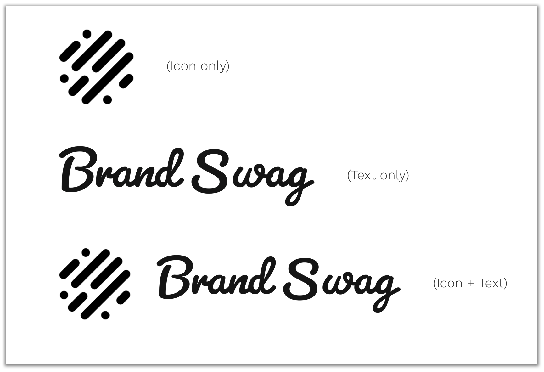 Brand Swag Brand Assets