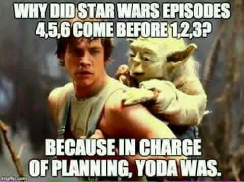 Yoda and Emails. Many similarities.