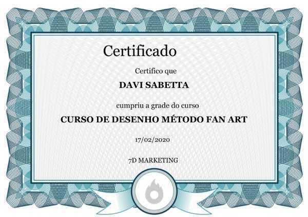 imagem do certificado de conclusão