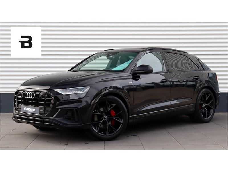 Audi Q8 50 TDI quattro Pro Line S ABT Tuning, B&O, Panoramadak, Head-Up Display Deze Audi Q8 50TDI is voorzien van een ABT Performance kit met een totaal vermogen van 330PK en 650NM.