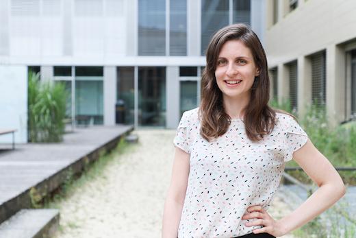 Photo of Anaïs, EPFL Extension School Alumni