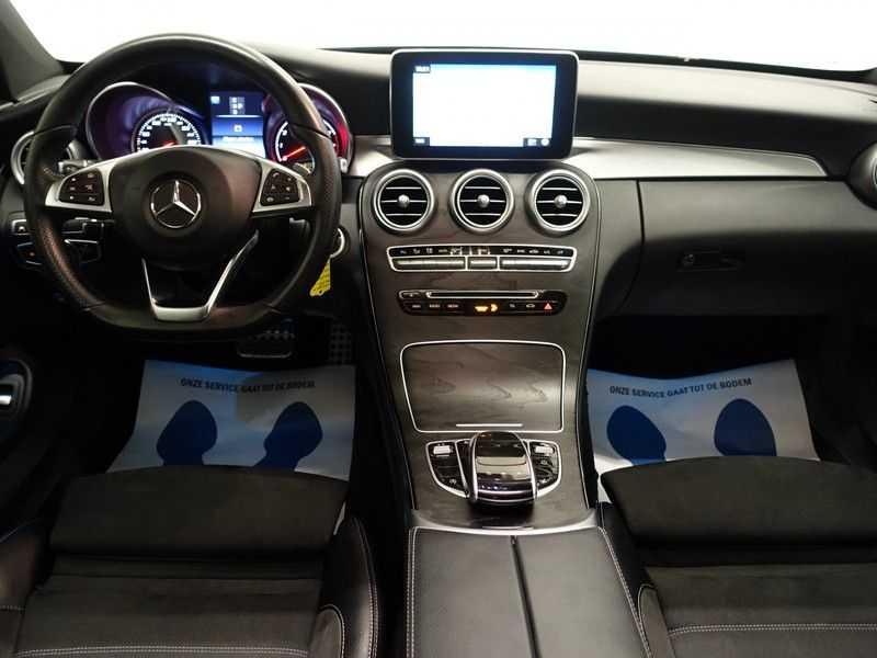 Mercedes-Benz C-Klasse Coupé 300 Prestige 245pk AMG Aut- Panodak, Leer, Camera, Navi, Xenon afbeelding 8