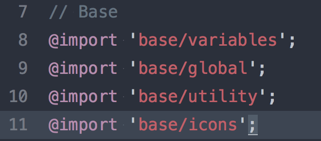 รวม CSS ของ icon font ในไฟล์ main.css