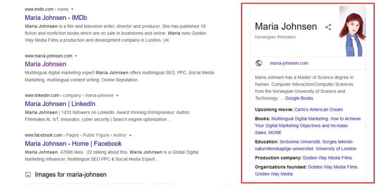 Maria Johnsen