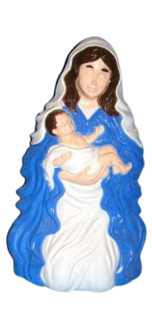 Mary Holding Baby Jesus photo