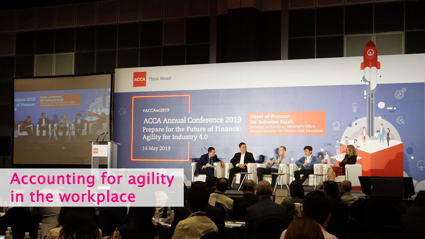 ACCA Agile Conference involving GovTech as part of a panel discussion