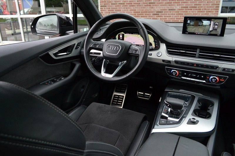 Audi Q7 3.0 TDI quattro 272pk S-Line 7p Pano Lucht Nachtz Trekh 4wielbest HUD ACC 360 afbeelding 3