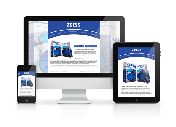 ZEISS Web Design