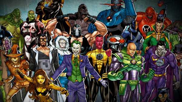vilões do superman lado a lado em imagem da DC Comics