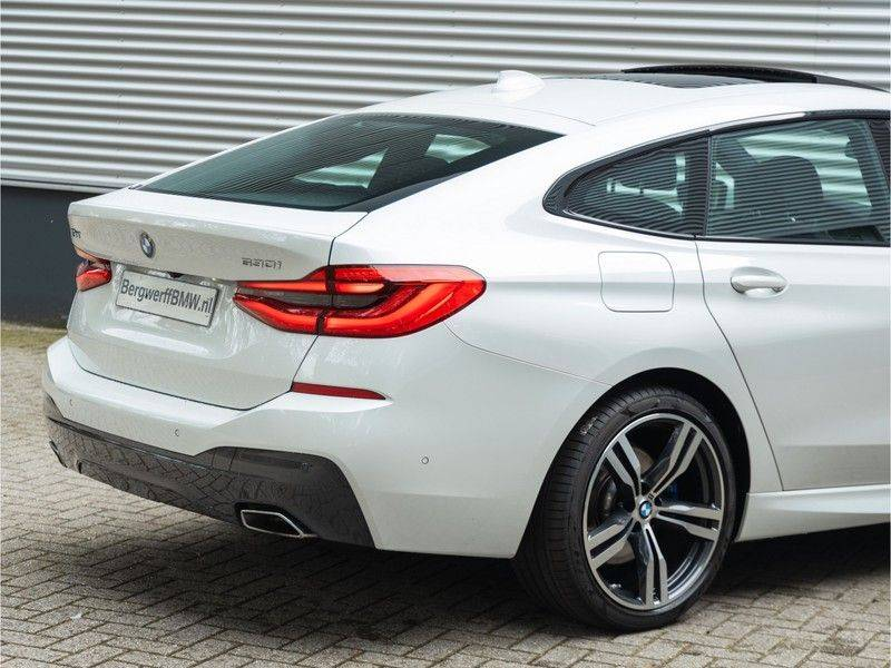BMW 6 Serie Gran Turismo 630i High Executive - M-Sport - Luchtvering - Facelift - Panorama afbeelding 10