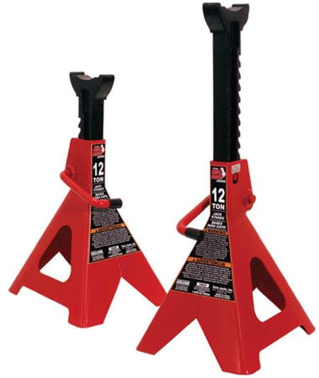 Torin Big Red Steel Jack Stands: product image.