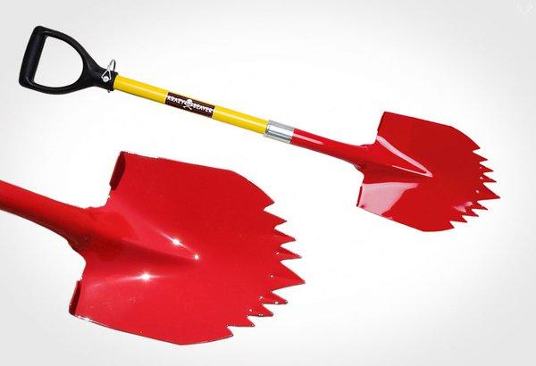 portable off road shovel