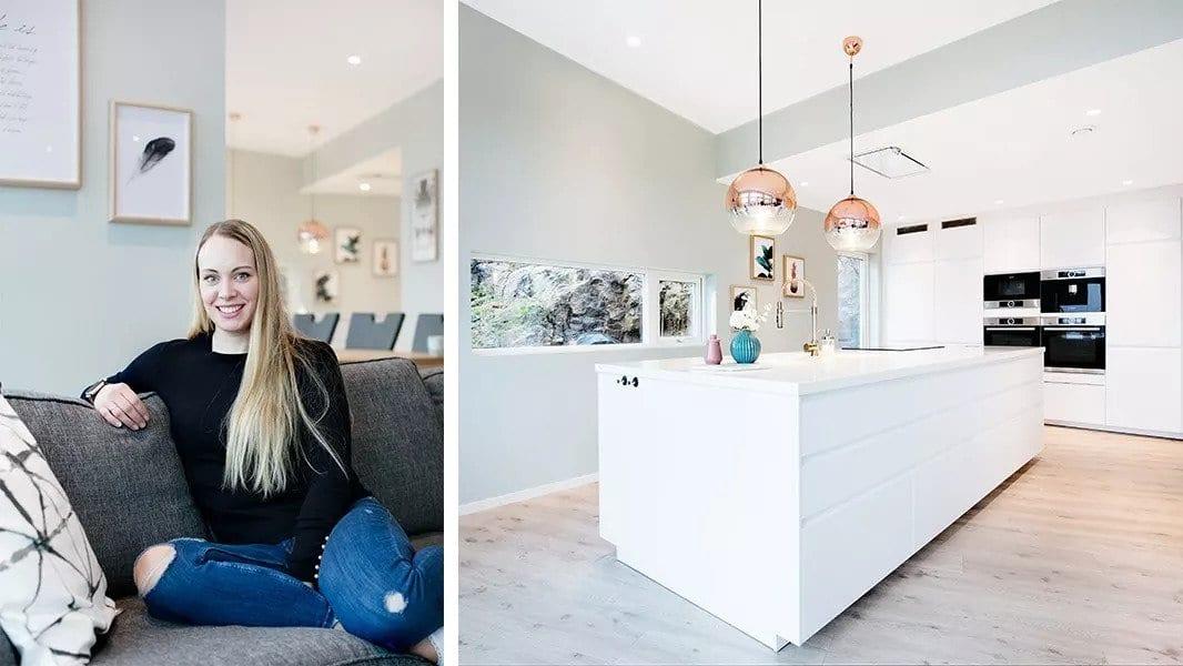 Hjemme hos: Yvonne og Daniel Halvorsen