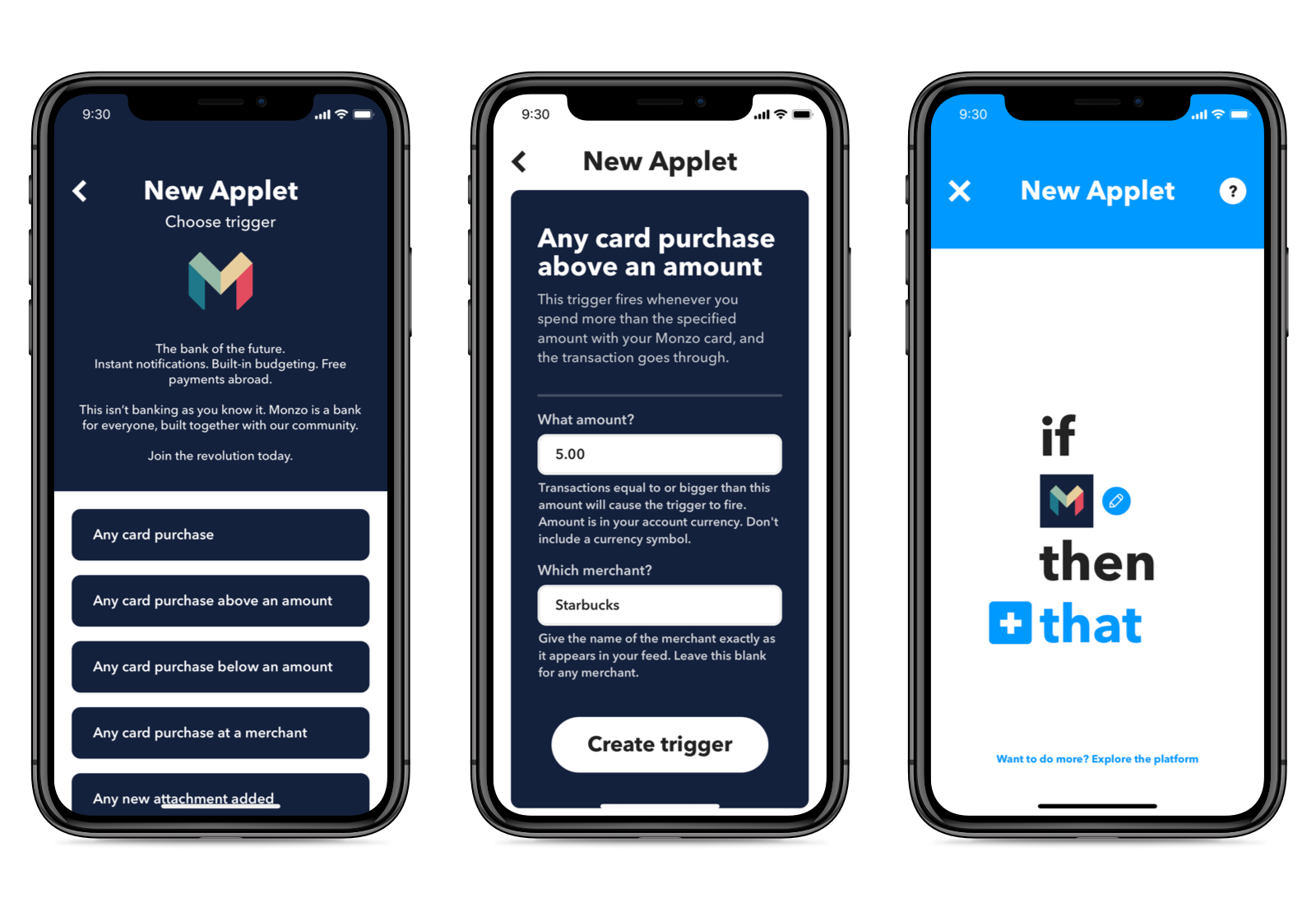 how to create an applet