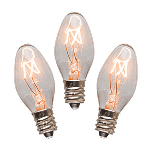 15 Watt Light Bulbs - 3 Pack