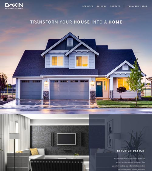 Home services template